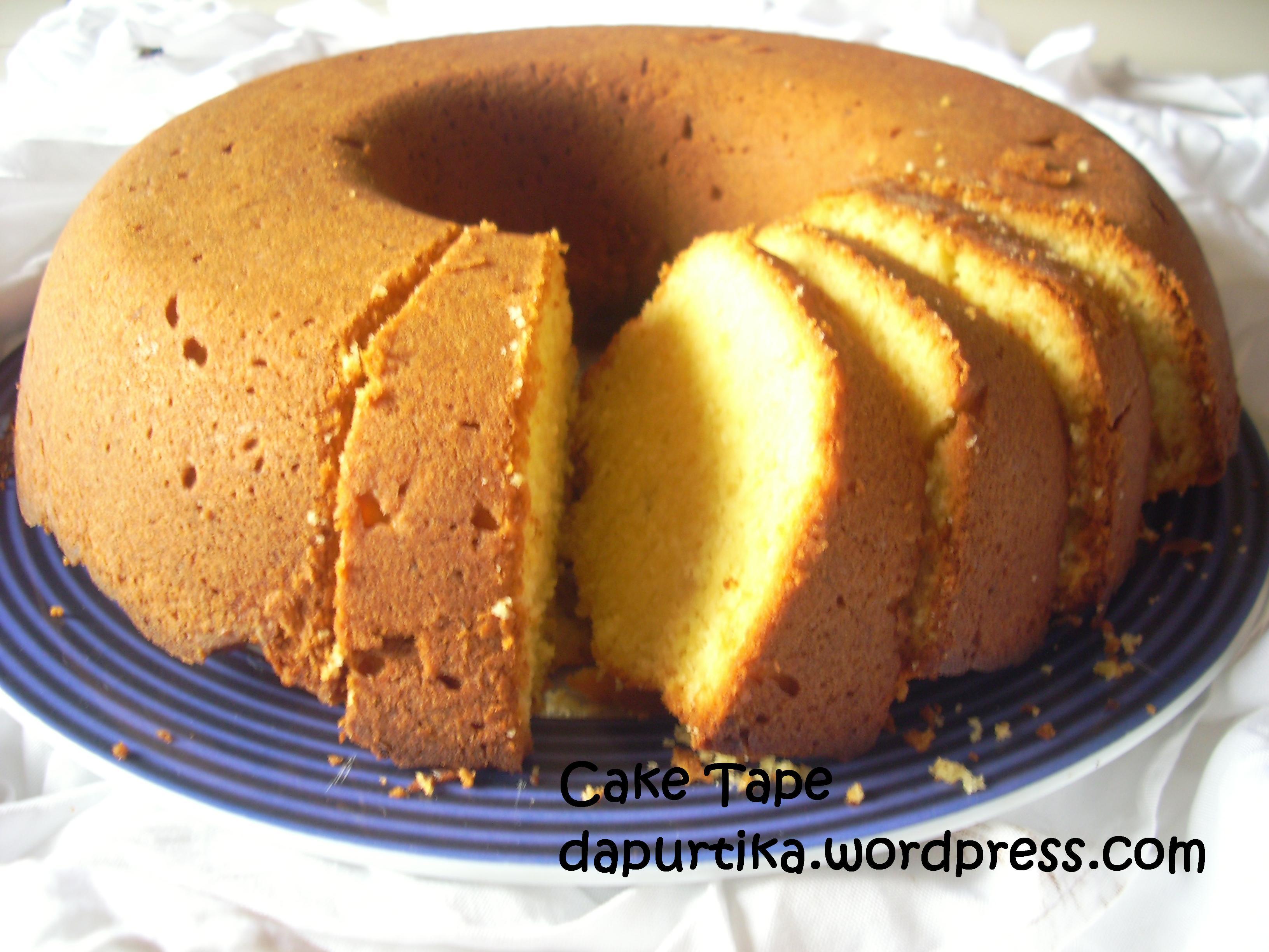 Resep Cake Tape Jtt: Dapurtika