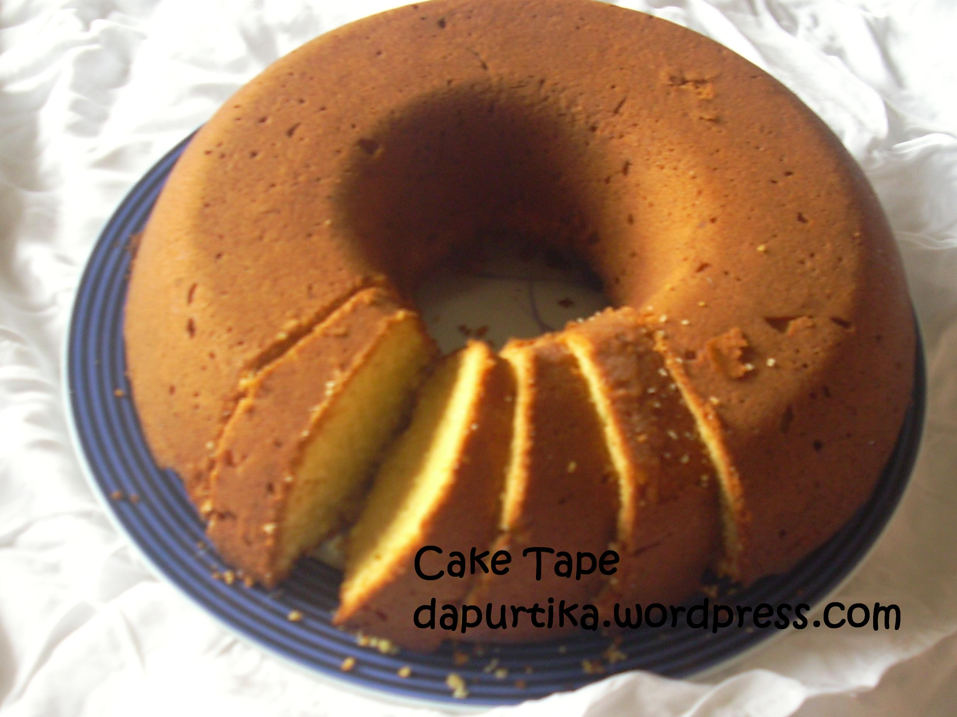 Resep Cake Tape Spesial Jtt: Dapurtika