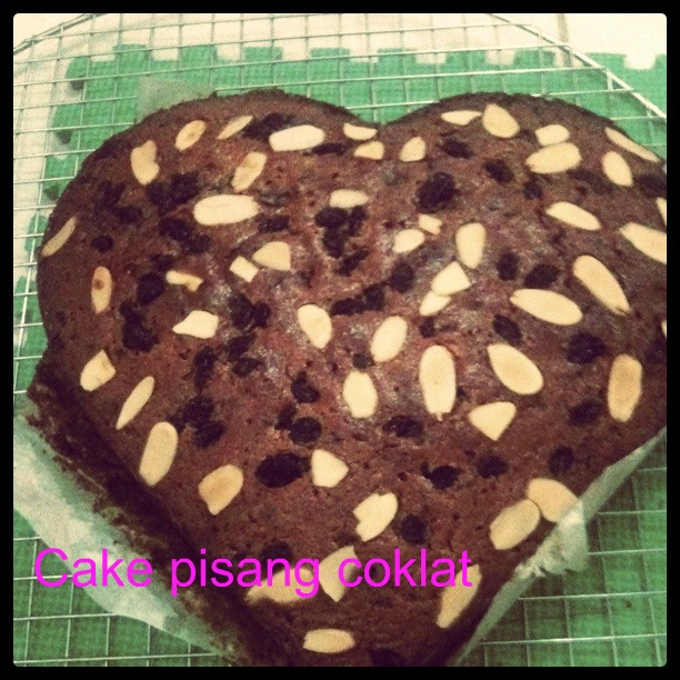 Pin Cake Pisang Coklat Cake On Pinterest